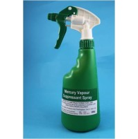 Mercury Vapour Suppressant Spray 500ml
