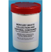 Waste Container UN-Certfied 1 litre with mercury vapour suppressant