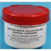 Waste Container UN-Certfied 500ml with mercury vapour suppressant