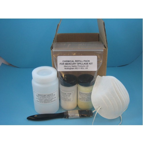 A Replenishment pack for used spillage kit