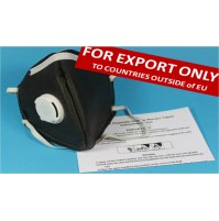 Mercury Vapour Proof Mask (NOTE: FOR EXPORT TO NON-EU COUNTRIES ONLY)